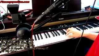 Piano Roland HPi5 Ngày Đầu Tiên Đi Học Và Bụi Phấn Piano Nguyễn Kiên