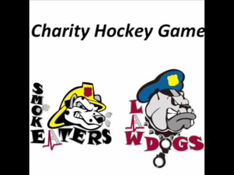 LAW DOGS  V S   SMOKE EATERS CHARITY HOCKEY GAME 3 23 2016