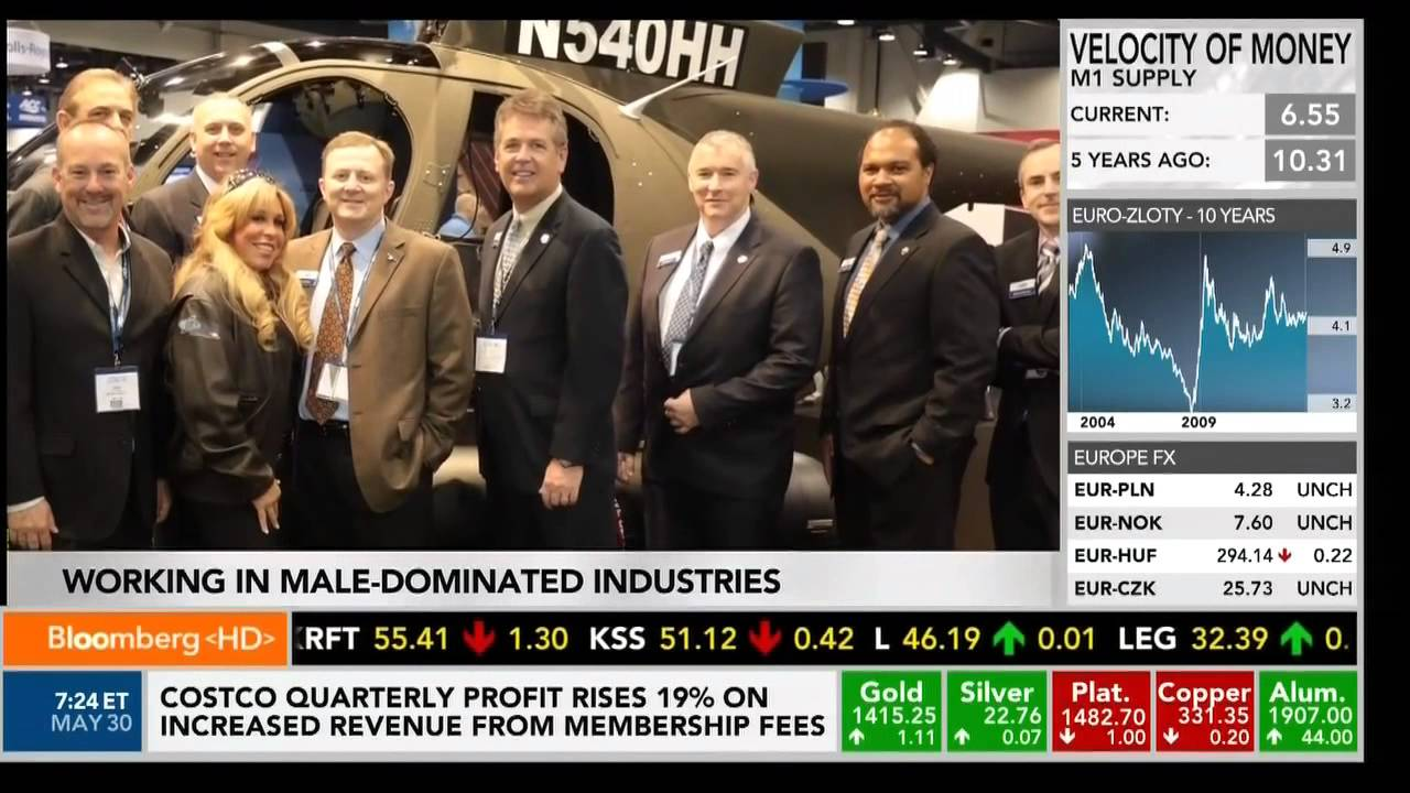 business report the chronicle with bloomberg