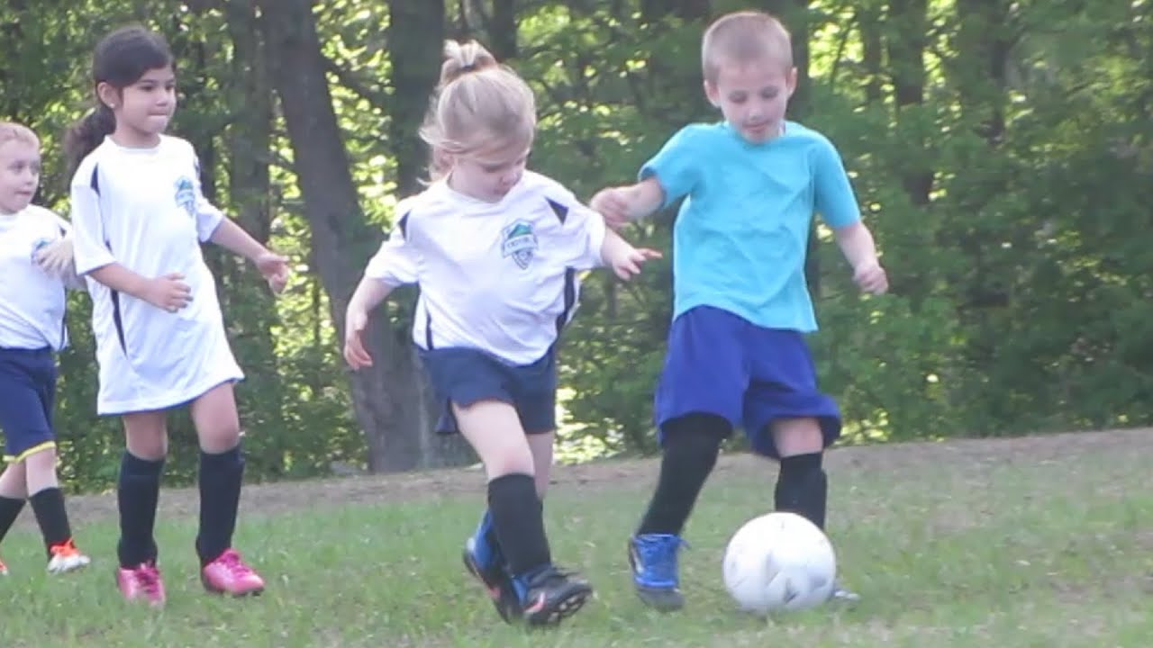 4 Year Old Soccer Game 4 23 15 Daily Vlog Youtube