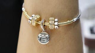 Autumn 2019 PANDORA Shine Moments 3-Link Charm Bracelet Styling / Design  Idea