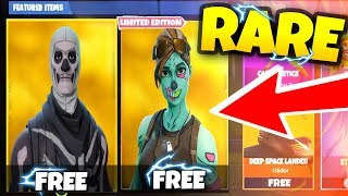 This Account Has EVERY Rare SKIN on FORTNITE... FREE Skull Trooper & Ghoul Trooper!