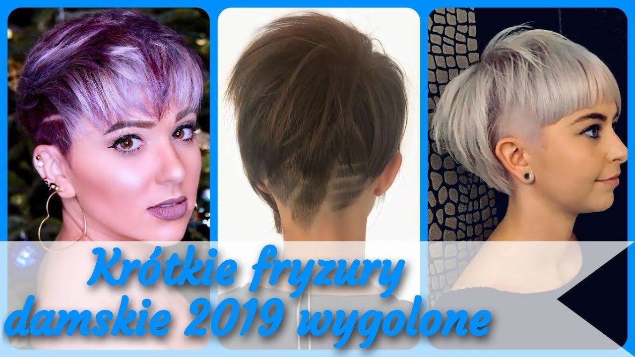 Top 20 Modne Krótkie Fryzury Damskie 2019 Wygolone