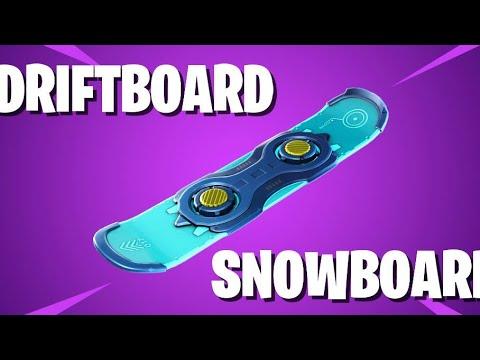 New Drift Board In Fortnite Battle Royale Youtube