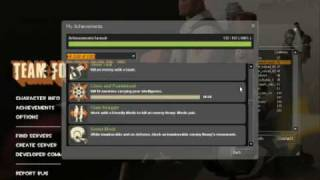 Team fortress 2 - all achievements (old)