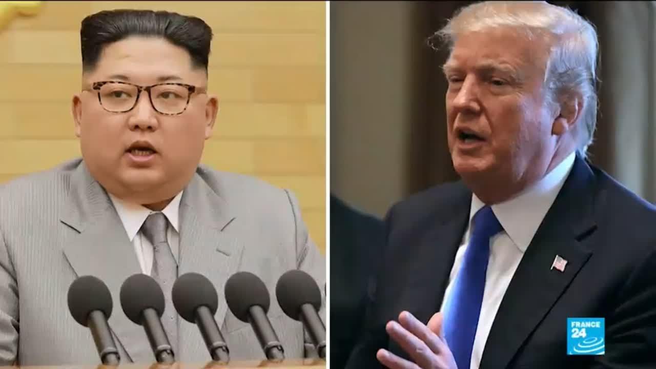 فرانس 24:North Korea talks: Donald Trump setting the stage and terms of what could be a historic summit