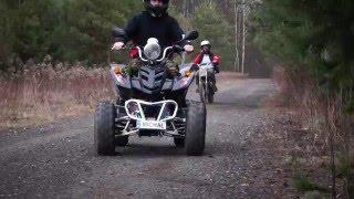 ATV 150cc ride #3 | CROSS 125cc |