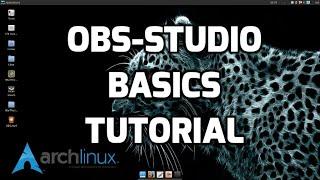 obs studio basics tutorial