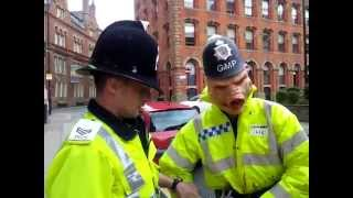 Man in pig mask gets arrested for impersonating a police officer