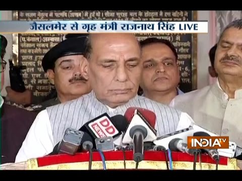 India Will Seal India-Pakistan Border by 2018: Rajnath Singh