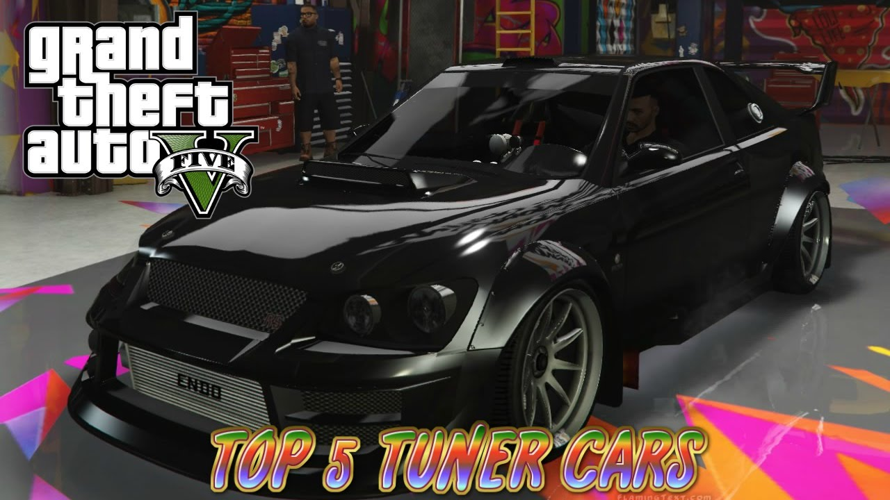 GTA V top 5 tuner cars - YouTube