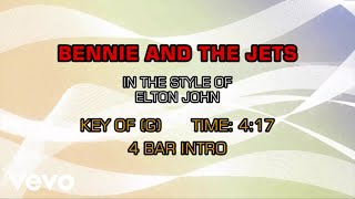 Elton John - Bennie And The Jets (Karaoke)