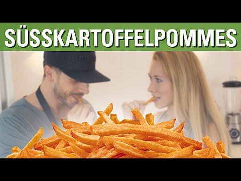 Knusprige Ofen-Süßkartoffel-Pommes feat. Mara