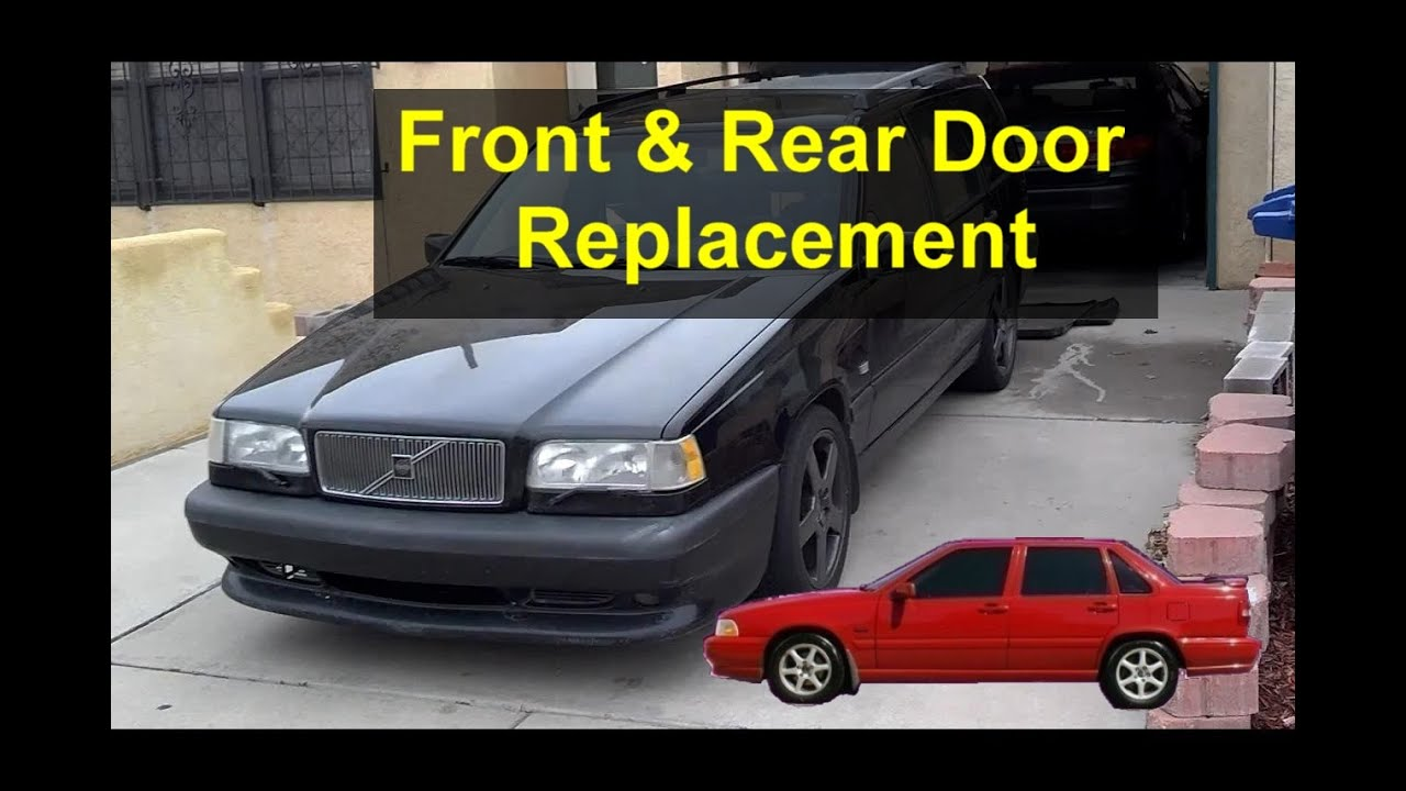 Front And Rear Door Removal Installation Replacement