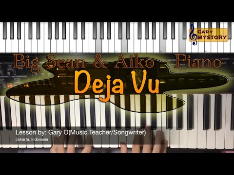 big-sean-&-jhene-aiko---deja-vu-easy-piano-tutorial-song-cover-backtrack-free-sheet-music