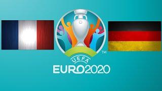 Футбол.Чемпионат Европы.Прямая трансляция матча Франция-Германия.