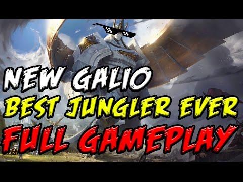 League Of Legends: Season 4 Galio Is OP - YouTube