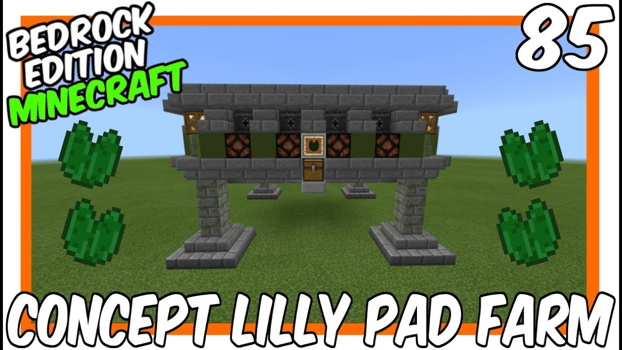 Download CONCEPT Lilly Pad Farm [Minecraft Bedrock Edition][MCPE]