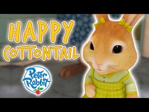 Peter Rabbit - Happy Cottontail | Cartoons for Kids