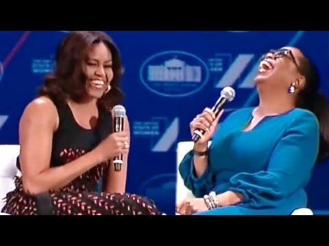 "Thumbnail: Michelle Obama Jokes that Barack is ""Swagalicious"""