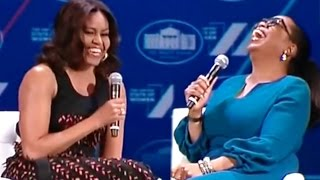 "Michelle Obama Jokes that Barack is ""Swagalicious"""