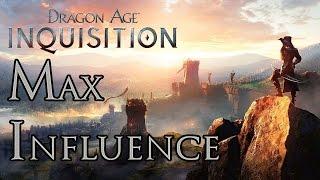 Dragon Age: Inquisition - Max Influence & Inquisition Perks Glitch