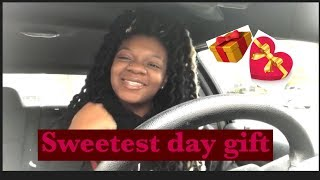 Sweetest Day VLOG! UNEXPECTED Gift for BOYFRIEND