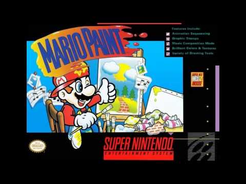 Mario Paint-Creative Exercise 10 Hours HQ