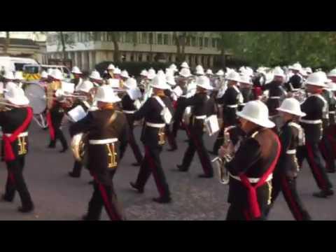 Massed Bands Royal Marines Beating Retreat 2016 part 2