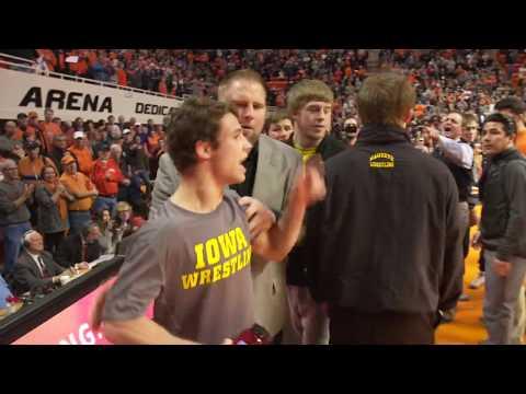 Thomas Gilman Got Into It With Oklahoma State