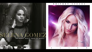 The Alien Wants What It Wants - Britney Spears and Selena Gomez (Mashup)