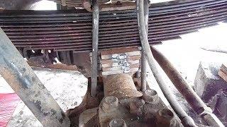 Проставки 50 мм ресора - міст, на УАЗ буханець.
