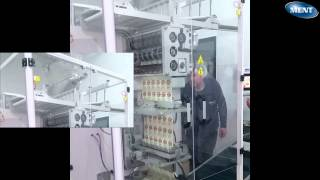 Sachet dry yeast packaging machine with automatic folding unit - 2014 Model