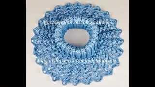 Манишки - вязание крючком