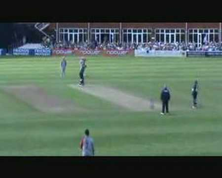 Steffan Jones  wicket maiden