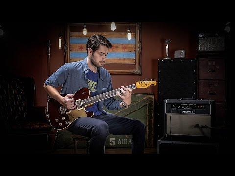 Elliott Raven Standard Ruby Red Slipper | Guitar Demo