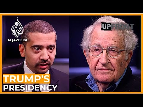 Thumbnail: Noam Chomsky on the new Trump era - UpFront special