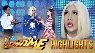 Vice's reaction to Ion and Jackque's iced tea | It's Showtime KapareWho