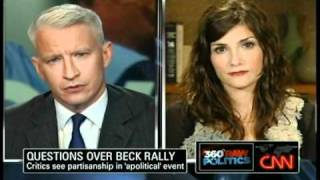Glenn Beck Critic Matt Taibbi gets OWNED by Tea Party Blogger, Dana Loesch