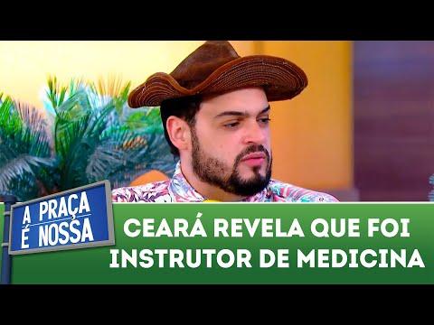 Ceará revela que já foi instrutor de medicina | A Praça é Nossa (09/08/18)