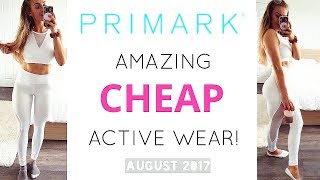 NEW PRIMARK ACTIVE WEAR COLLECTION HAUL | TRY ON!