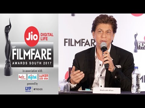 Filmfare Awards 2018 Press Conference Full Video | Shahrukh Khan