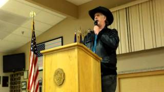 Wild Bill Speaks at Tri-county Tea Party