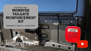 Jeep TJ MORryde Tailgate Reinforcement / Tire Carrier / Hinges