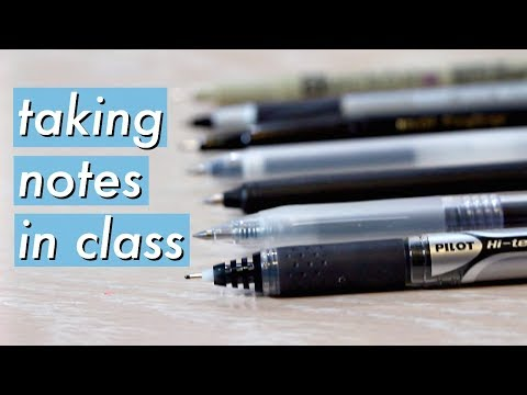 How to Take FAST Notes in Class | Study Effectively!!