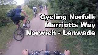 Cycling Marriotts Way, Norfolk | Norwich - Lenwade | Carrera Subway One