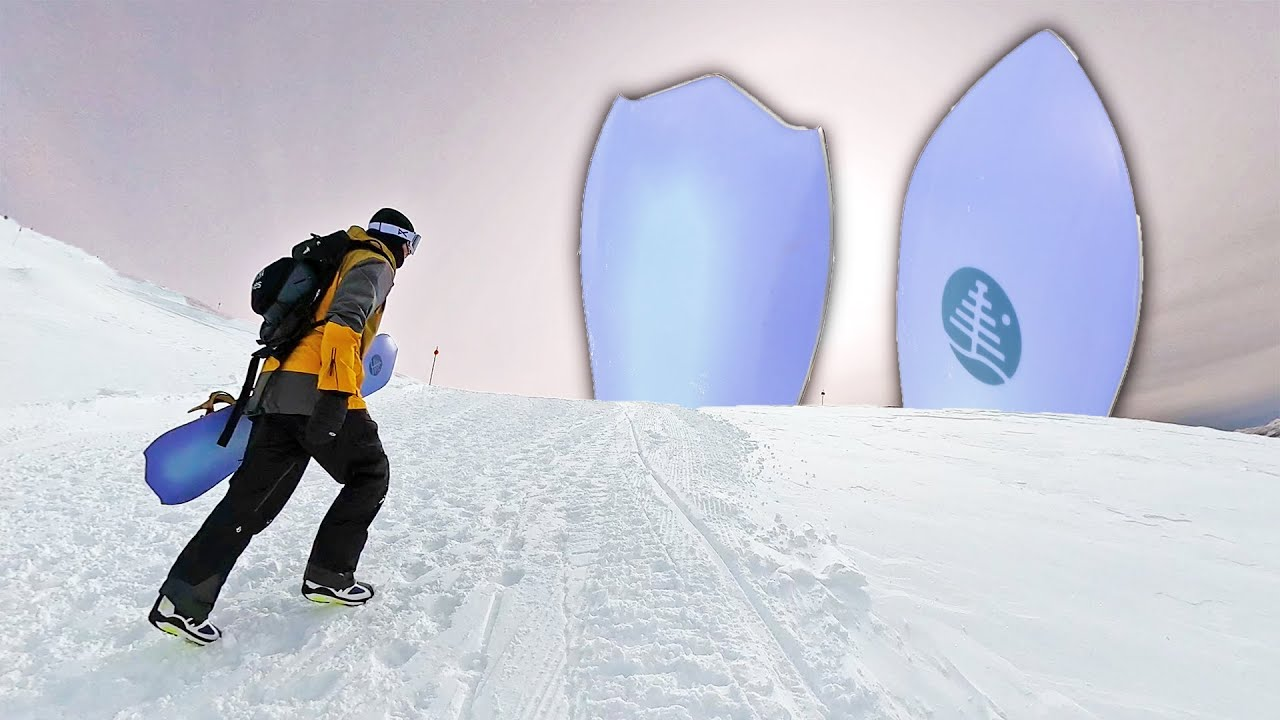 Are 3D Shapes The Future of Snowboarding?