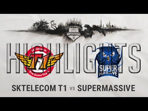 SKT vs SUP Highlights MSI 2016 D1 - Mid Season Invitational 2016 S6 SKTelecom T1 vs SuperMassive