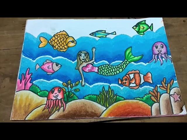 46 Gambar Pemandangan Laut Untuk Anak Sd Gratis