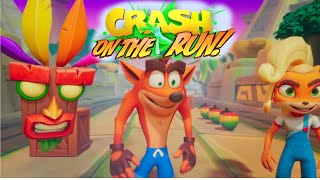 Crash Bandicoot On the Run! (by King) Official Announce Trailer